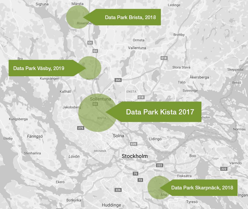 Karta Stockholm Drottninggatan.Stockholm Data Parks Sets New Standards For Sustainable Data Centers